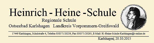 elternbrief heinrich heine schule ostseebad karlshagen. Black Bedroom Furniture Sets. Home Design Ideas