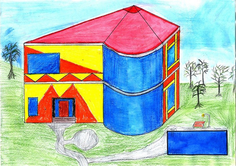 Dashmir Sulemani, 9a, Moderne Architektur